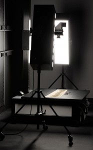 Imaging an historic panoramic photograph in our Glen Arm, MD studio