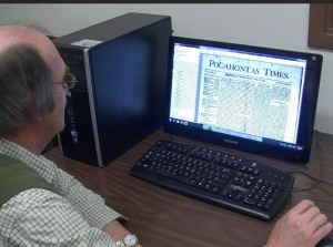 Using the Pocahontas Times Digital Archives
